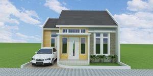 desain rumah tipe 45
