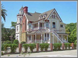 desain rumah victorian