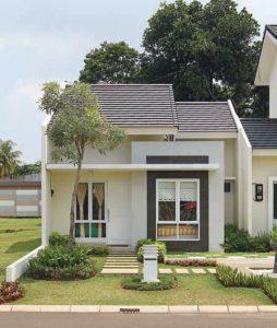 desain rumah minimalis warna putih