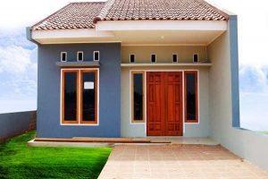 desain rumah modern sederhana