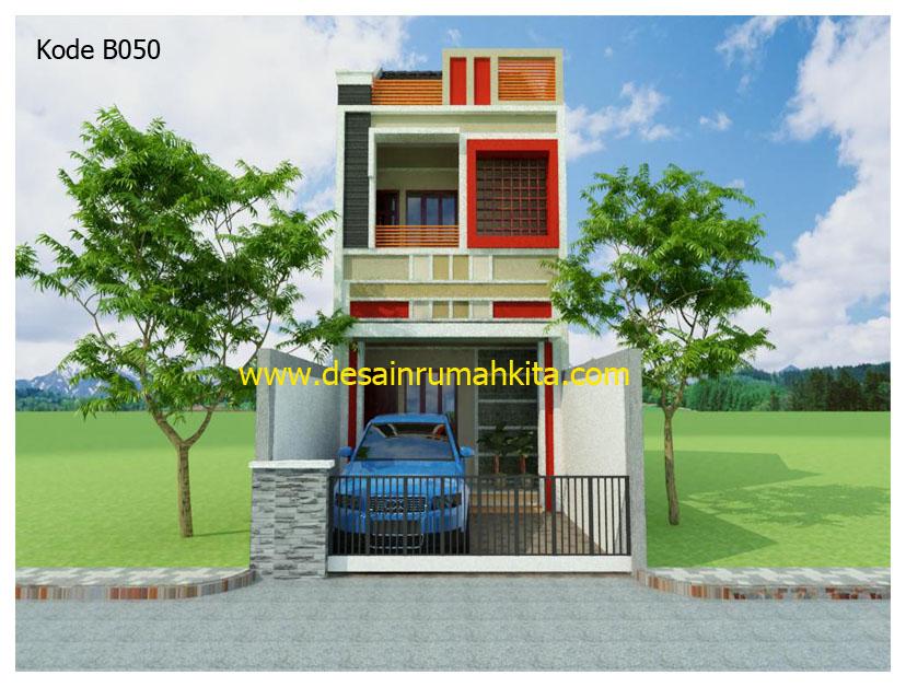 3 Desain Rumah Minimalis 2 Lantai 6x12 Gambar