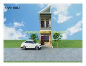 Desain Rumah 2 Lantai Di Lahan Sempit Jasa Desain Rumah Murah Online Wa 081229418751