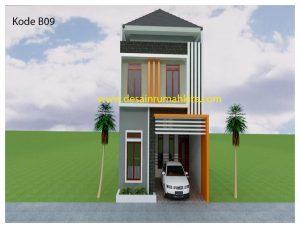 4 Ide Desain Rumah Dua Lantai Terbaik Beserta Gambar