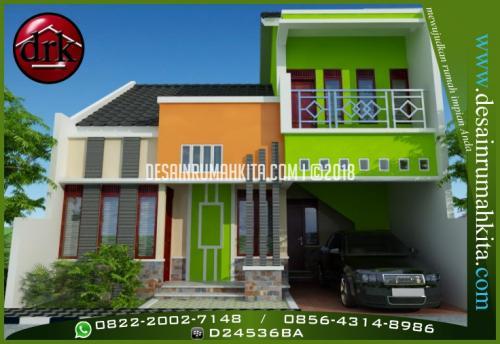Desain Rumah Minimalis 2 Lantai Bapak Anwar 1