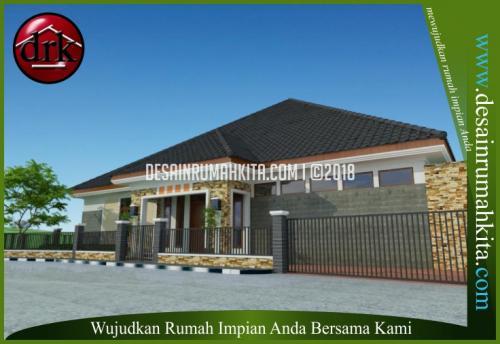 Desain Rumah Minimalis Bapak Najmi 1