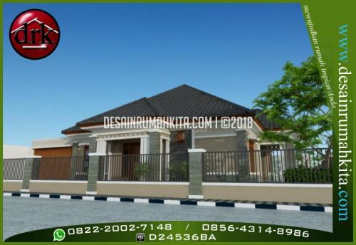 Desain Rumah Minimalis Bapak Rahman 1