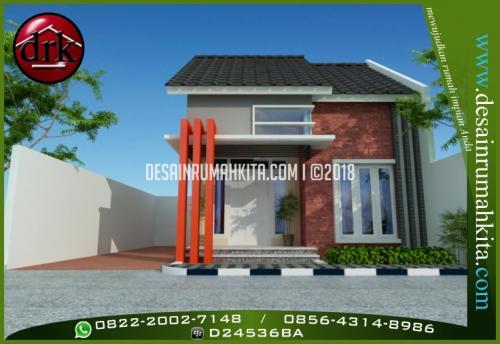 Desain Rumah Minimalis Dengan Bata Ekspos 1