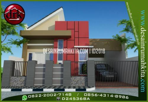 Desain Rumah Minimalis Modern 1