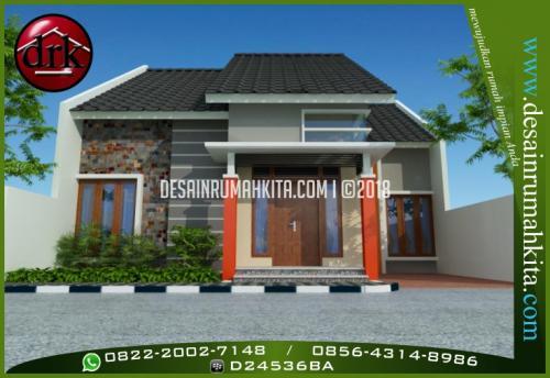 Desain Rumah Minimalis Type 85 a