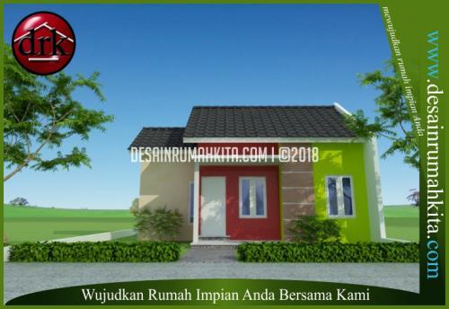 Desain Rumah Mungil Sederhana 1